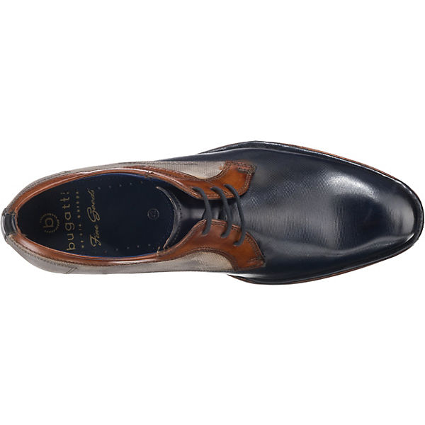 bugatti, Business-Schnürschuhe, Gute blau-kombi  Gute Business-Schnürschuhe, Qualität beliebte Schuhe de03f9