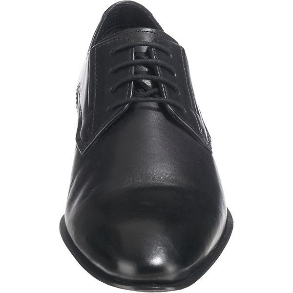 bugatti Business-Schnürschuhe schwarz