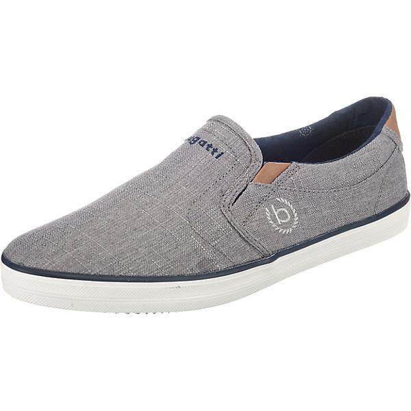 grau Sneaker bugatti bugatti On Slip Slip On On Sneaker bugatti grau Slip 5FT0qPx