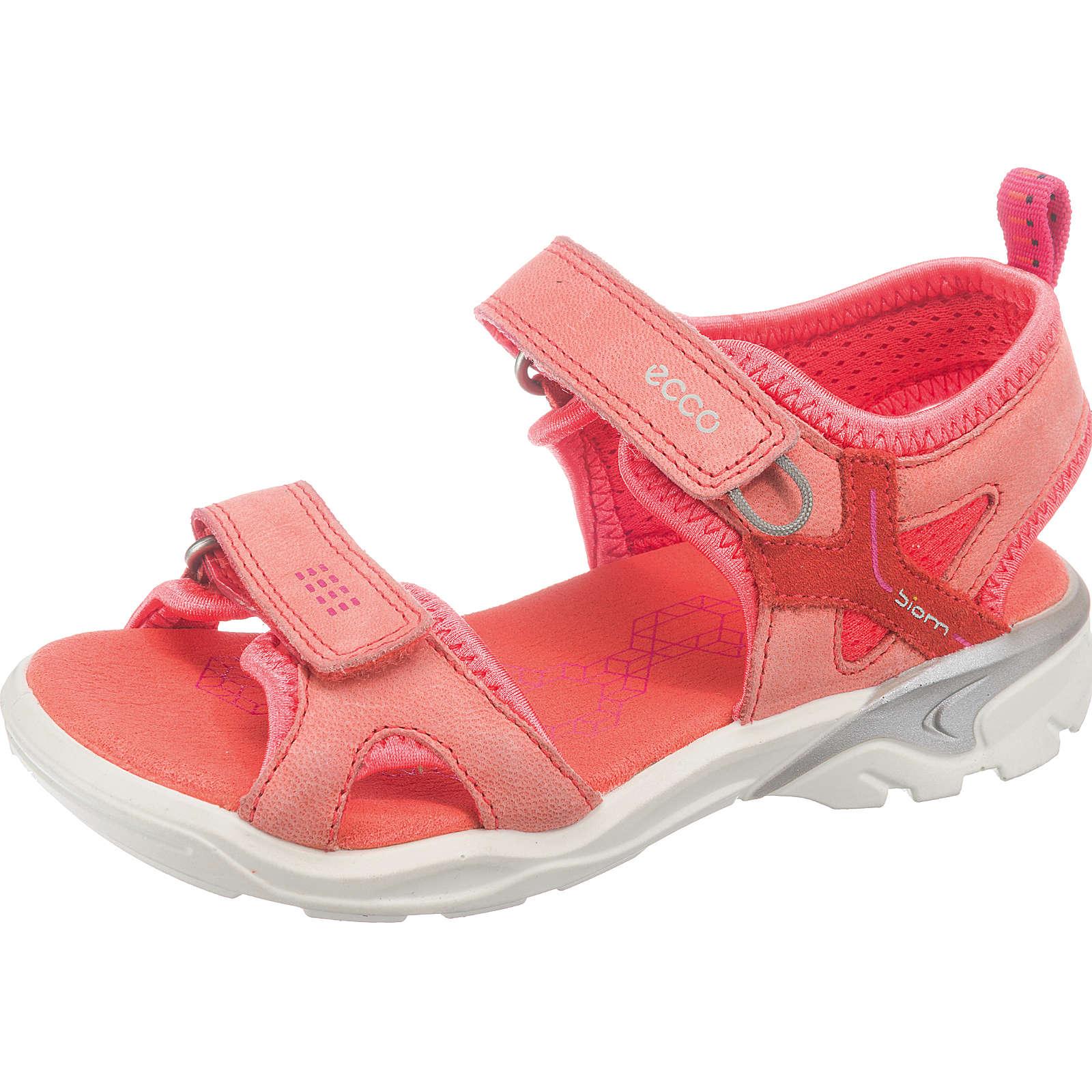 ecco Sandalen BIOM für Mädchen koralle Mädchen Gr. 34
