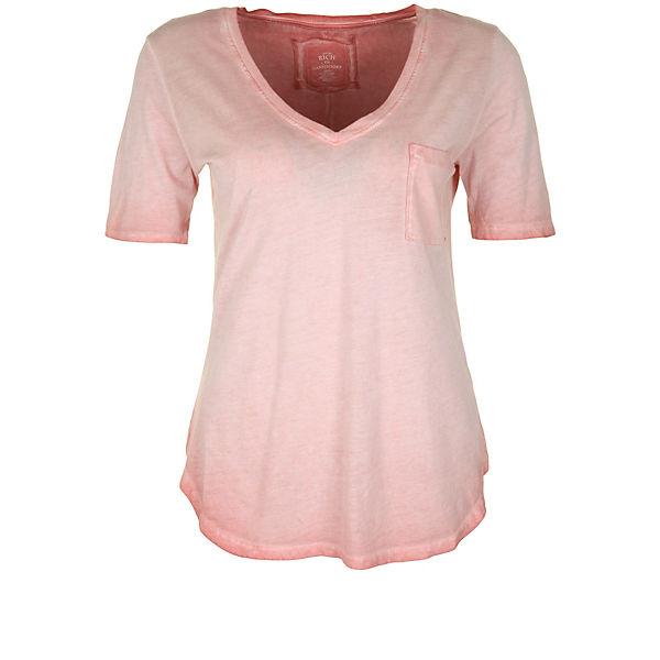 PAILLETTE Shirt Rich rosa Better VNECK T 0E1WwIwpZg