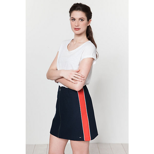 dunkelblau Linienrock TOMMY TOMMY JEANS JEANS A x0RcXIq