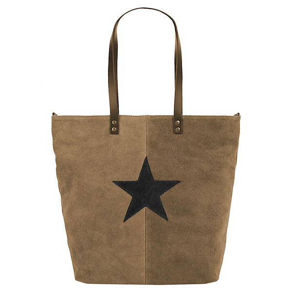 forty degrees Shopper taupe