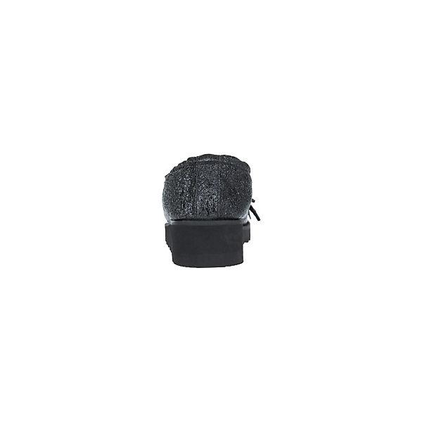 Donna schwarz Carolina VENERE NERO Slipper schwarz Donna  Gute Qualität beliebte Schuhe 6853a0