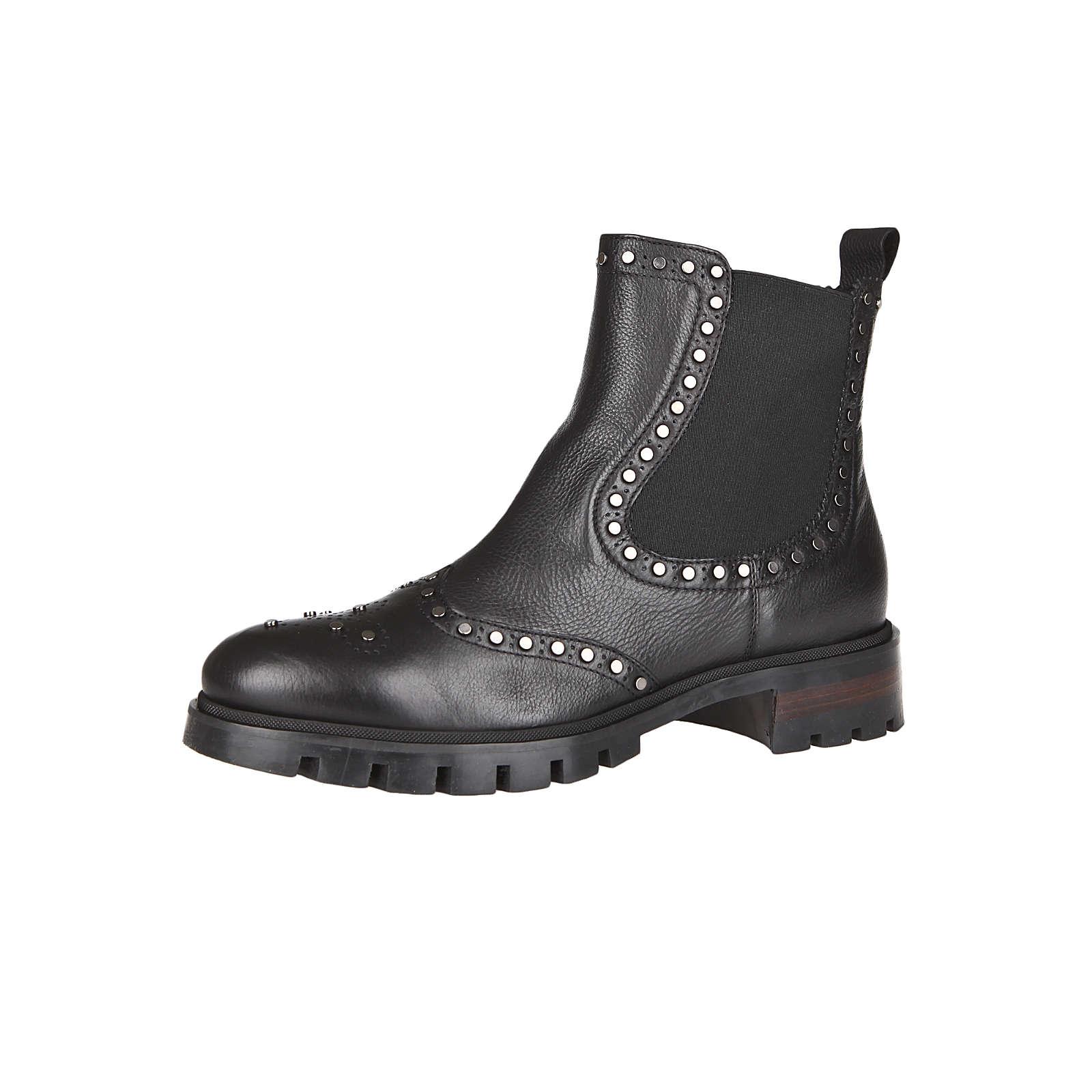 Donna Carolina MATRIX NERO Chelsea Boots schwar...
