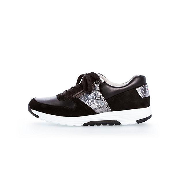 Gabor, Schnürschuhe, schwarz schwarz schwarz  Gute Qualität beliebte Schuhe 040d66
