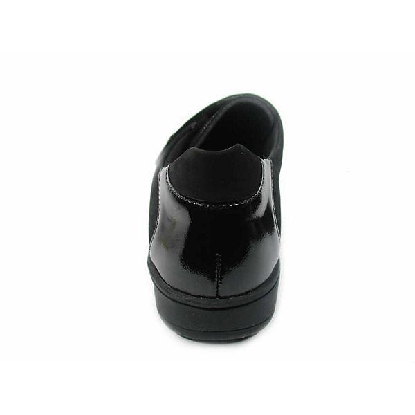 Solidus Klassische Slipper schwarz