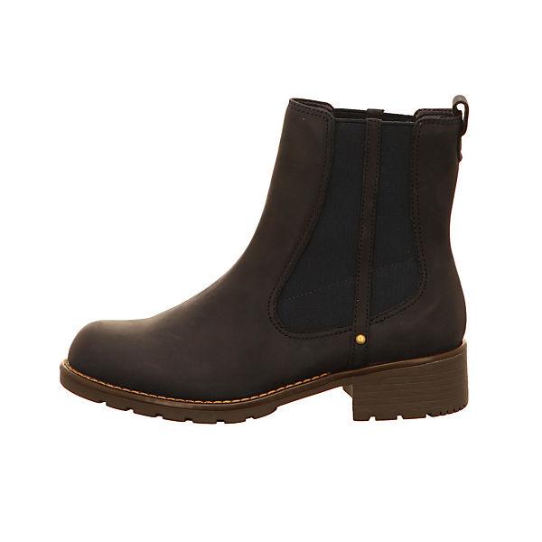Clarks Klassische Stiefeletten dunkelbraun  Gute Qualität beliebte Schuhe