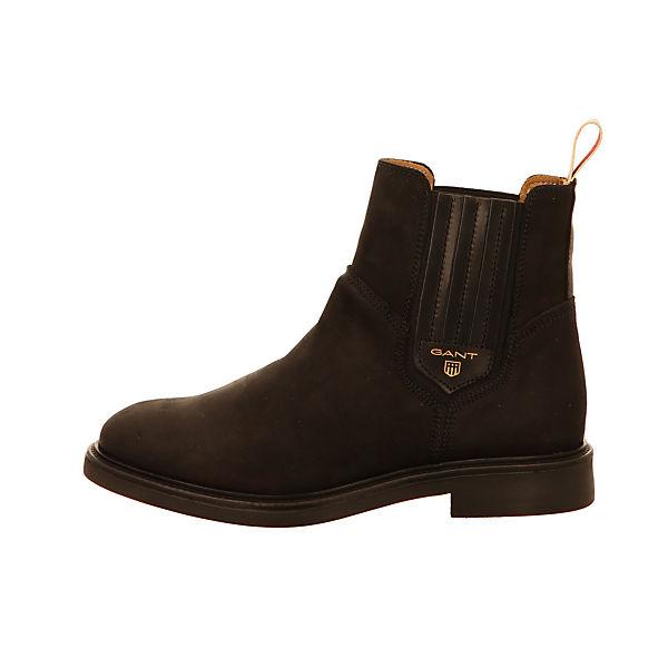 GANT, Chelsea Boots, schwarz