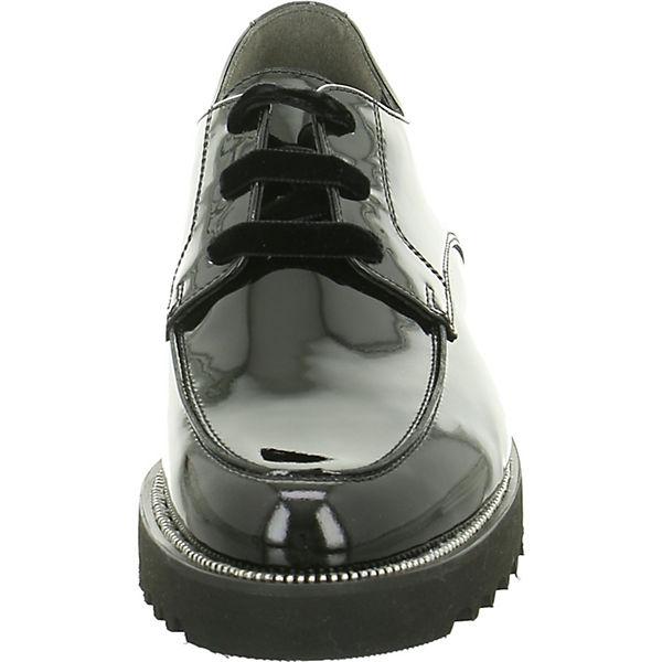 Paul Green Schnürschuhe schwarz