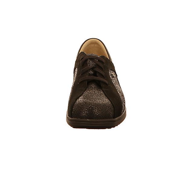 Finn Comfort Schnürschuhe dunkelbraun
