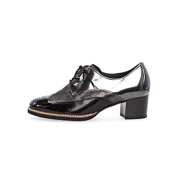 Gabor Schnürschuhe schwarz  Gute Qualität beliebte Schuhe