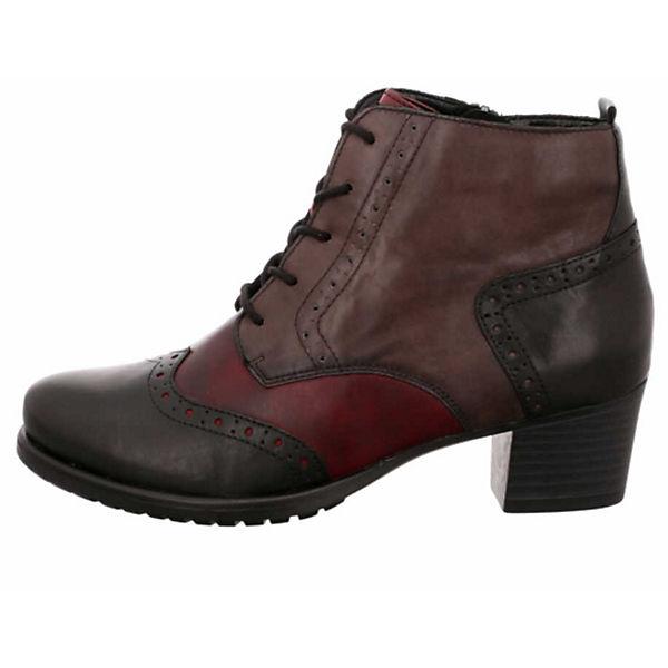 remonte, Schnürstiefeletten, braun-kombi  Gute Qualität beliebte Schuhe