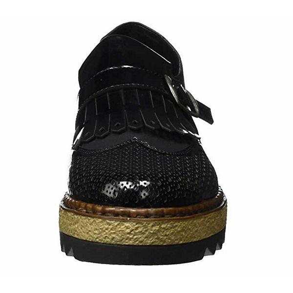 rieker Loafers schwarz