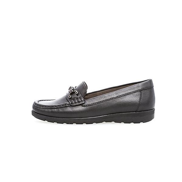 Gabor Klassische Slipper schwarz  Gute Qualität beliebte Schuhe