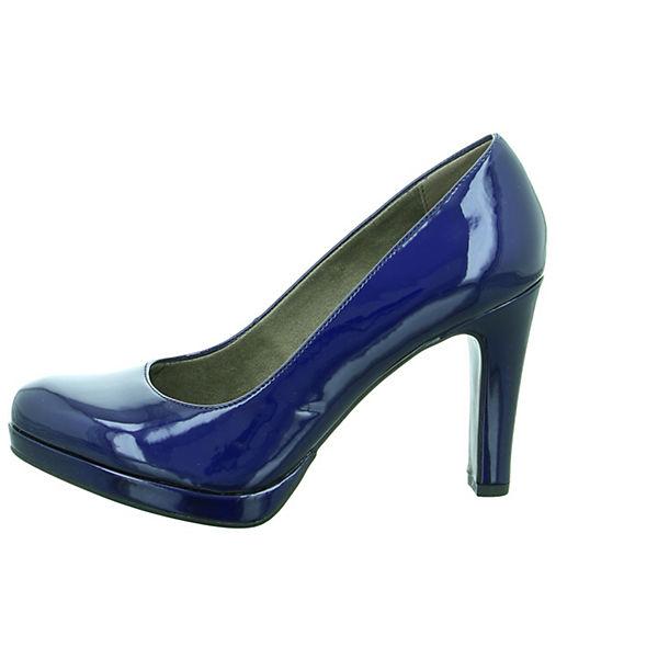 Tamaris Klassische Pumps blau