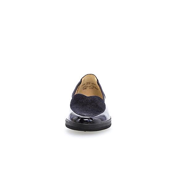 Gabor Klassische Slipper blau