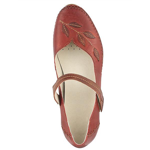 Naturläufer, Naturläufer Spangenpumps, beliebte rot  Gute Qualität beliebte Spangenpumps, Schuhe 456029