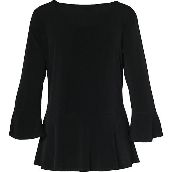 s BLACK schwarz Blusenshirt LABEL Oliver qAXwAFfn7