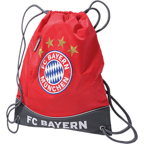 429074efc8475 Sportbeutel FC Bayern rot. FC Bayern München