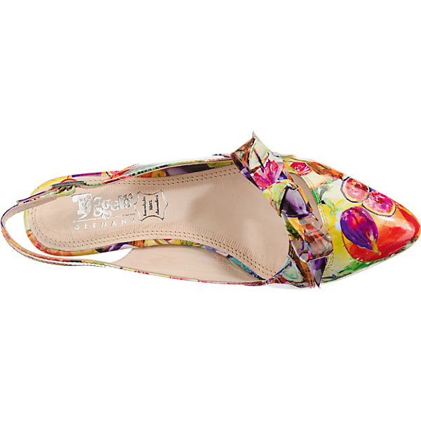 Tiggers®, Maria  Qualität Sling-Pumps, gelb-kombi  Gute Qualität  beliebte Schuhe 9fe391