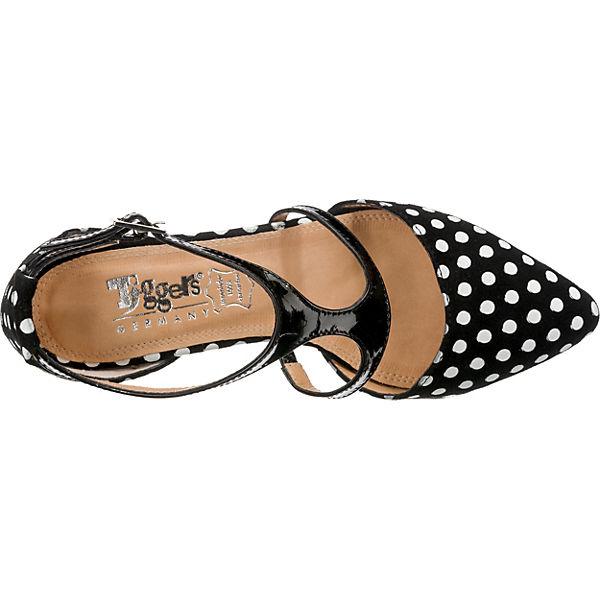 Tiggers®, Maria  T-Steg-Pumps, schwarz Schuhe  Gute Qualität beliebte Schuhe schwarz 3d44bc