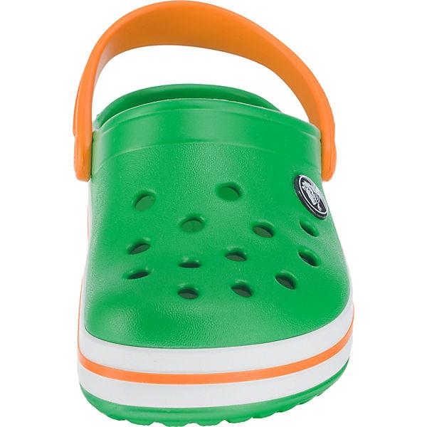 crocs Clogs Crocband für Mädchen grün