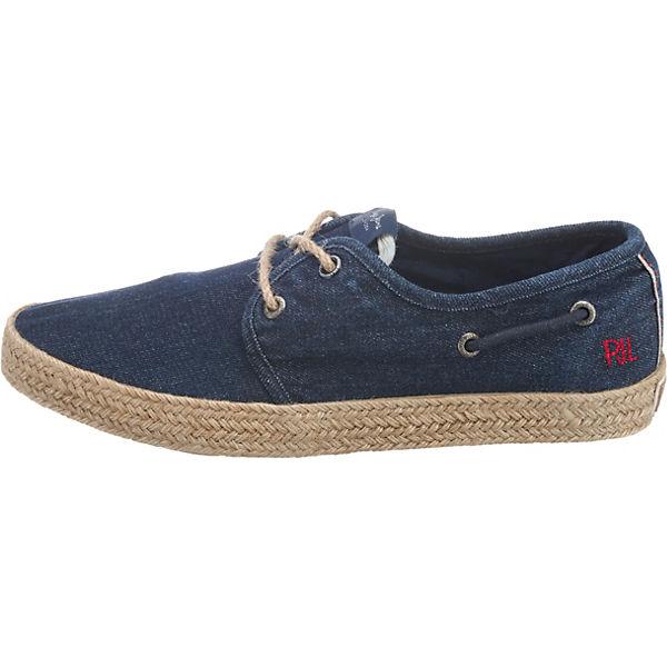 Pepe Jeans, Sailor Deck Denim Schnürschuhe, Schnürschuhe, Schnürschuhe, dunkelblau  Gute Qualität beliebte Schuhe 666343