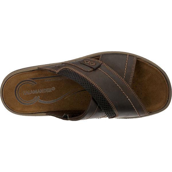 SALAMANDER, Gute RISTO Pantoletten, dunkelbraun  Gute SALAMANDER, Qualität beliebte Schuhe 9ef117