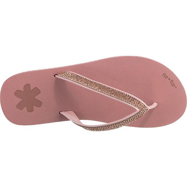 flop flip glam flip rosa Zehentrenner WgfBAfH