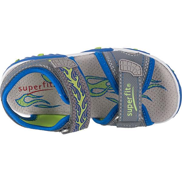 superfit Sandalen MIKE 2 für Jungen, Weite M4 grau
