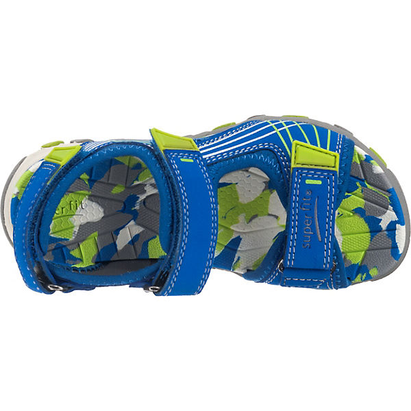 superfit Sandalen HENRY für Jungen, Weite M4 blau