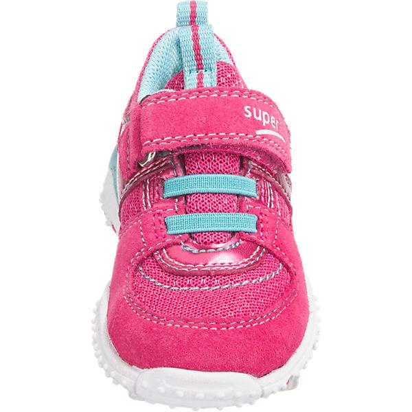 superfit Baby Halbschuhe SPORT7 MINI für Mädchen, Weite M4 pink