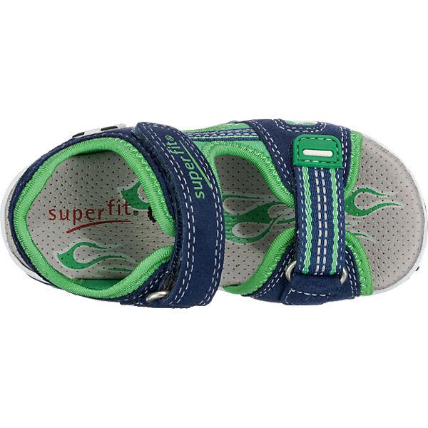 superfit Sandalen MIKE 2 für Jungen, Fußball, Weite M4 dunkelblau