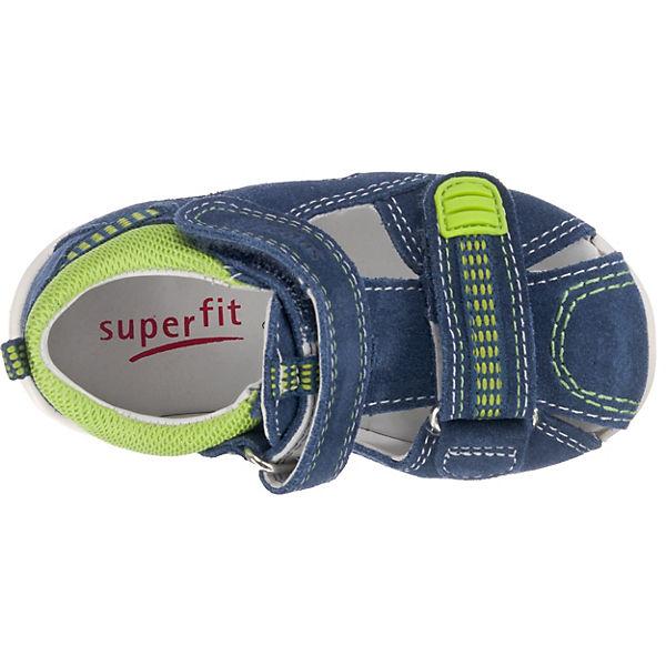 superfit Baby Sandalen FREDDY für Jungen, Weite M4 blau
