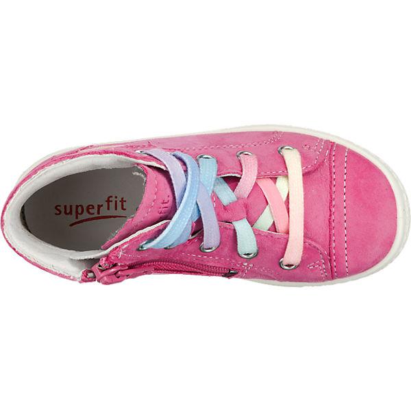 superfit Sneakers High TENSY für Mädchen, Weite M4 pink