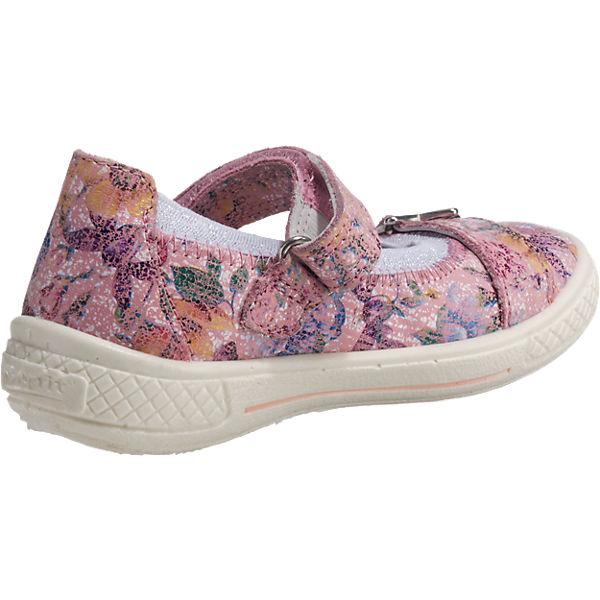 superfit Ballerinas TENSY für Mädchen, Blumen, Weite M4 rosa