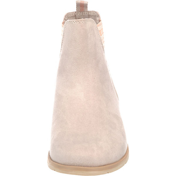 MARCO TOZZI Chelsea Boots beige