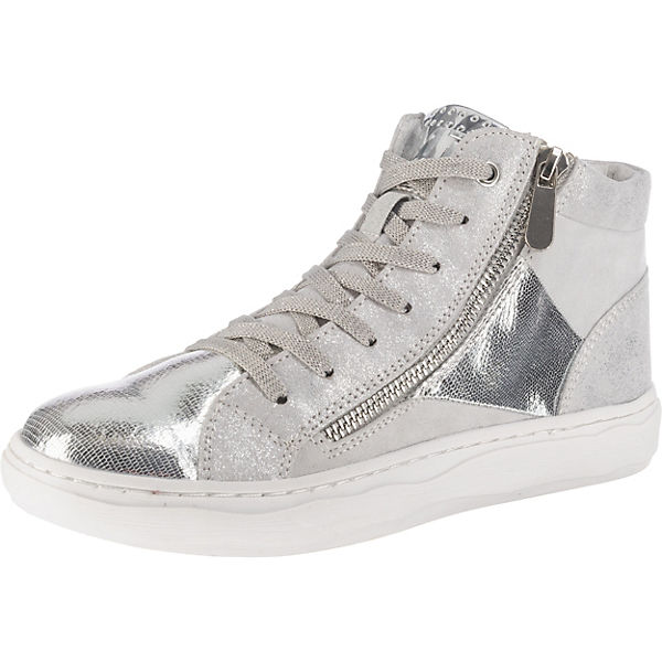 MARCO TOZZI, Sneakers High, grau-kombi   mirapodo f826665306