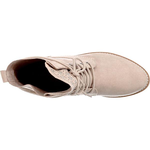 MARCO TOZZI Schnürstiefeletten beige TOZZI beige MARCO beige Schnürstiefeletten TOZZI Schnürstiefeletten MARCO aq8aW6F