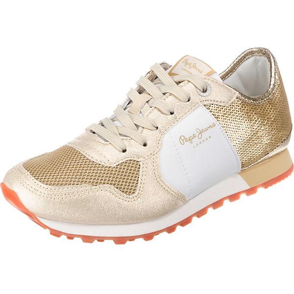 Pepe Jeans VERONA W SEQUINS Sneakers Low gold-kombi