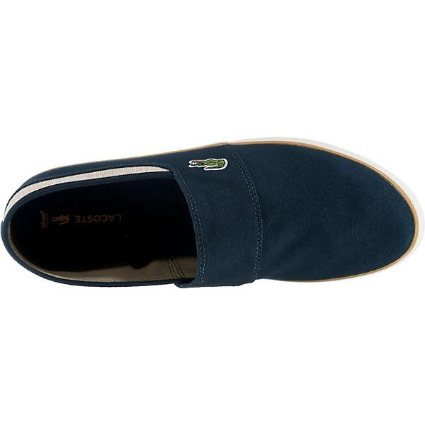 Slipper 1 218 blau NVY LACOSTE Sportliche CAM MARICE NAT 0Tqaaw