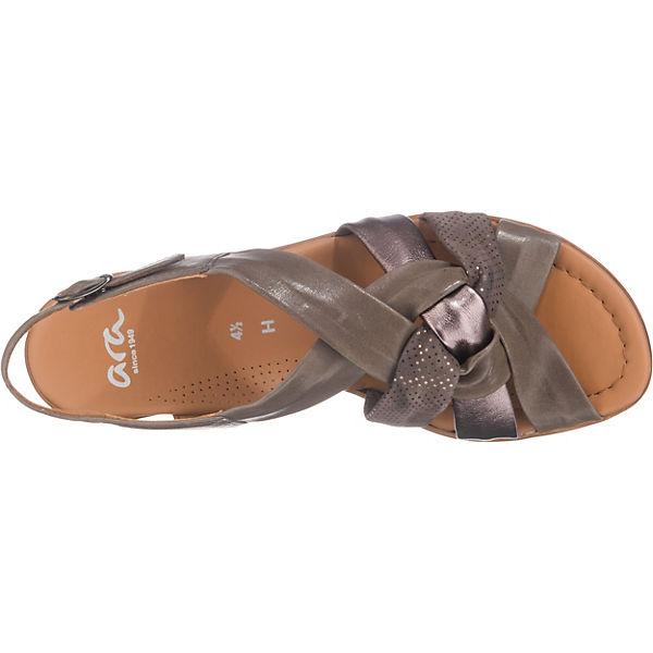 ara, Lugano-S Klassische Klassische Klassische Sandaletten, khaki   b6ae78