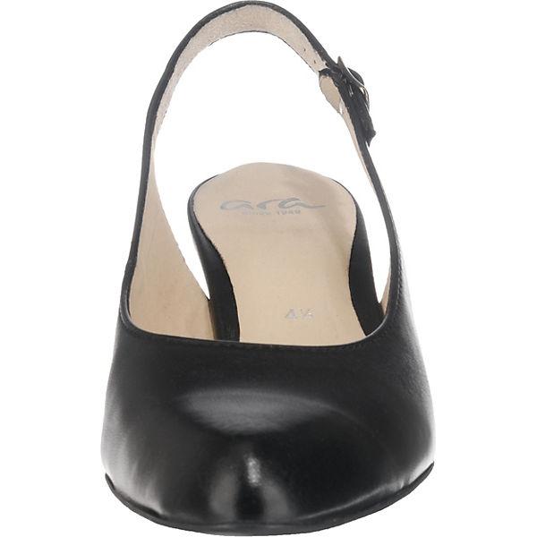 ara, Knokke Sling-Pumps, beliebte schwarz  Gute Qualität beliebte Sling-Pumps, Schuhe cd54a4