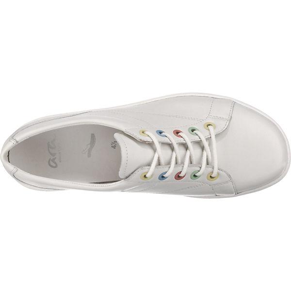 ara,  Nevada-Ges Sneakers Low, weiß  ara,  72bf8f