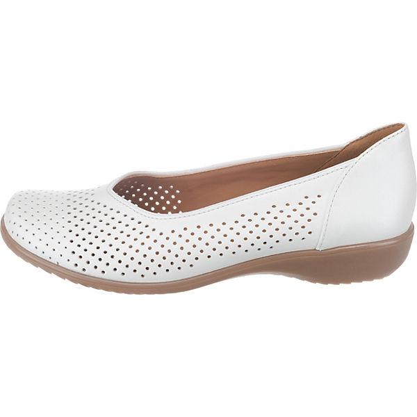 ara, Andros-Tr Komfort-Ballerinas, Qualität weiß  Gute Qualität Komfort-Ballerinas, beliebte Schuhe e3f327