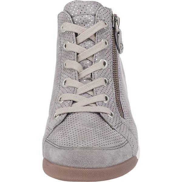 ara Rom-Stf Sneakers High hellgrau hellgrau hellgrau  Gute Qualität beliebte Schuhe 87e0ab