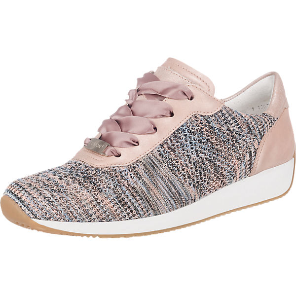 the latest later fresh styles ara, Fusion 4 Sneakers Low, rosa-kombi