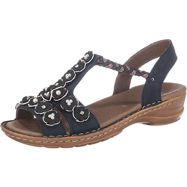 best place wholesale online los angeles ara, Hawaii Komfort-Sandalen, blau | mirapodo