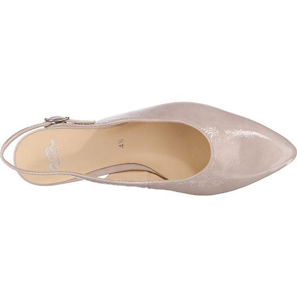 ara, Gute Paris Sling-Pumps, beige  Gute ara, Qualität beliebte Schuhe 36f4e6